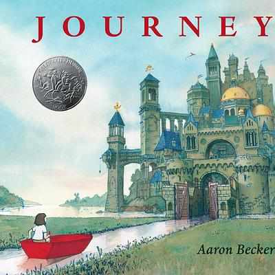 Journey by Aaron Becker book cover
